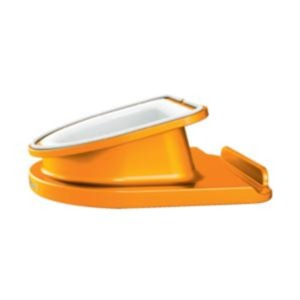 Leitz WOW Rotating Desk Stand (Orange) for iPad Tablet PC