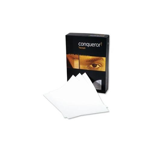 NEW CONQUEROR A4 50 VELLUM LAID 100G//M2 PREMIUM OFFICE PAPER FOR LASER//INKJET